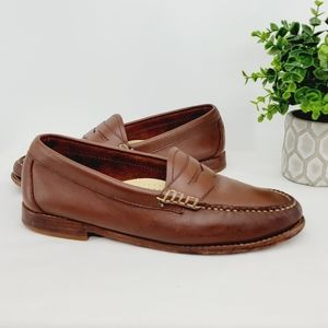 G.H. Bass Weejuns Leather Penny Loafer Size 7.5